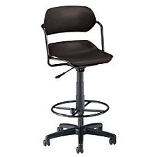 Boss Mesh Drafting Stool With Loop Arms 45 12 H x 27 12 W x 27 D