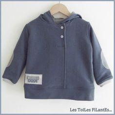 Pantalon All time favorite Ottobre gris et bleu7-1