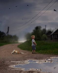 Elena Shumilova's photography is stunning and touches the heart of all mothers of sons.