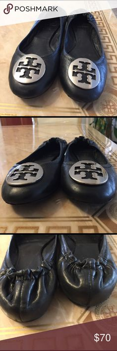 TORY BURCH Size 7/5 Pre loved gently used with visual signs the use Reasonable offers welcome Tory Burch Shoes Flats & Loafers