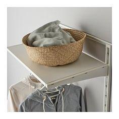 ALGOT Wall upright/mesh baskets, white - IKEA