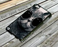 glasses cat - iPhone 4/4S/5/5S/5C, Case - Samsung Galaxy S3/S4/NOTE/Mini, Cover, Accessories,Gift