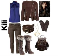 the hobbit inspired outfit ~ kili
