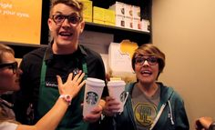 They made the first 'Do You Wanna Go to Starbucks' parody and now they have THIS ONE and it's hilarious, too! 'Love is an Open Store.'