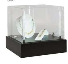 Like new - 2 lighted display cases $180 each free shipping.  At Rio for $192.60