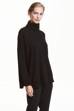 Maglia collo alto in cashmere | H&M