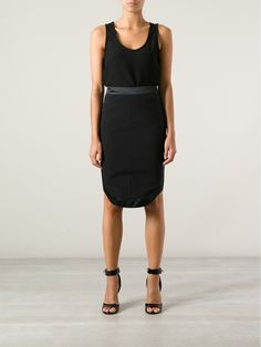 Givenchy Curved Skirt