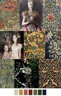 MEDIEVAL ROMANCE by Pattern Curator