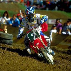 Jeremy McGrath 1993 Motocross Des Nations still wondering what I was doing on Team America.