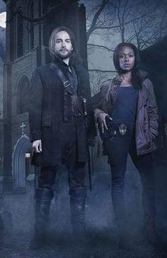 Tom Mison As Ichabod Crane And Nicole Beharie As Lt. Abbie Mills