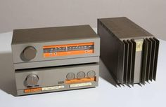 Quad stereo (UK) from 1967: Quad 33 Pre-amplifier, Quad FM3 Tuner and quad 303 Amplifier. Got one floating around somewhere.