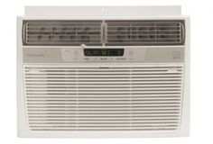 Frigidaire FRA106CV1 10,000 BTU 115-Volt Window-Mounted Compact Air Conditioner with Temperature Sensing Remote Control  Frigidaire's FRA106CV1 Energy Star 10,000 BTU 115-Volt Window-Mounted Compact Air Conditioner is perfect for rooms up to 500 square feet. It quickly cools the room on hot days and quiet operation keeps you cool without keeping you awake. Low voltage start-up and operation conserves energy and saves you money. Ready-Select electronic controls allow you to set the co..