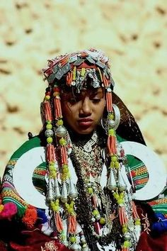 A Berber Woman of North Africa
