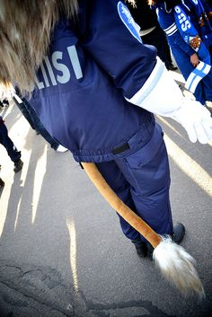 Police officer uniform, only in Finland