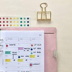 Color Coding im Filofax Coding, Organization, Color, Getting Organized, Organisation, Colour, Colors, Staying Organized, Programming