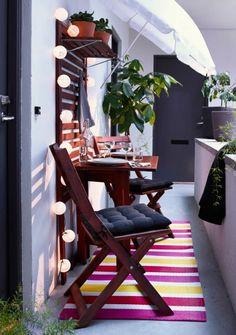 Terrazzi, balconi, cortili e loggiati: perchè d'estate non portare i tappeti anche all'esterno? In polipropilene, impermeabili e resistenti.
