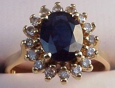 Kate Middleton's engagement ring from Prince  William of Great Britain.