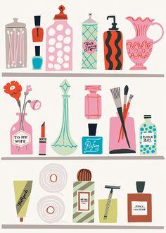 Danielle Kroll   Shelf Space