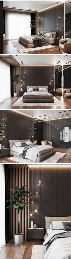 Interior Home Design Trends For 2020 - New ideas Modern Luxury Bedroom, Luxury Bedroom Design, Master Bedroom Interior, Bedroom Closet Design, Modern Master Bedroom, Home Room Design, Bedroom Furniture Design, Luxurious Bedrooms, Interior Design Living Room
