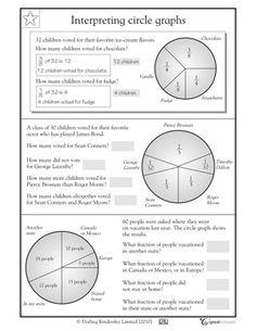 grade math worksheets slide show - Worksheets and Activities - Interpreting pie charts Christmas Math Worksheets, Graphing Worksheets, Worksheets For Kids, Printable Worksheets, School Worksheets, Math Tutor, Teaching Math, Circle Graph, Fifth Grade Math