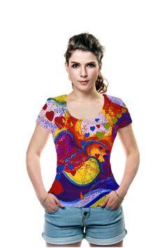 By Diane  Clancy, . All Over Printed Art Fashion T-Shirt by OArtTee #oarttee
