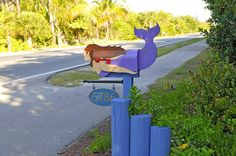 mermaid mailboxes - Google Search