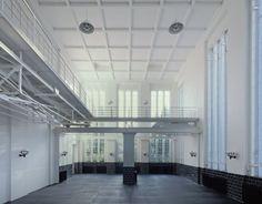 Gallery in former Machine Hall (Photo: Udo Meinel, Berlin)