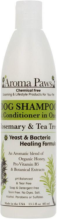 Rosemary Tea Tree Dog Shampoo and Conditioner