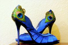 The shoes I bought for my wedding, my something blue!  #LaPlumeEthr