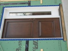 Jeld-Wen front entrance door