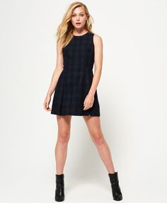 2dde7e6c9833de Superdry Georgie Shift Dress Navy