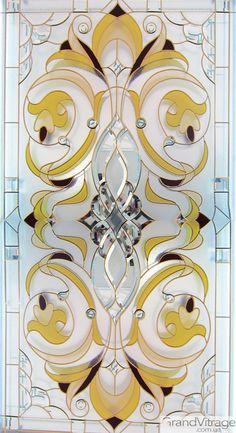 Glass Etching Designs, Glass Etching Stencils, Stained Glass Designs, Stained Glass Patterns, Stained Glass Door, Stained Glass Panels, Window Glass Design, Mosaic Glass, Planer