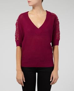 Commercial sweater with lovely sleeve detail