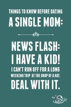 single mom tips