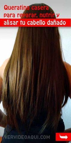 Queratina casera para reparar, nutrir y alisar tu cabello dañado