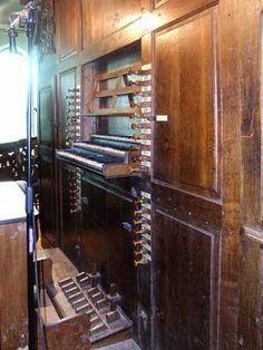 PIPE ORGANS: Van Peteghem 1778 Organ of the St-Martinuschurch of Haringe Flanders BELGIUM