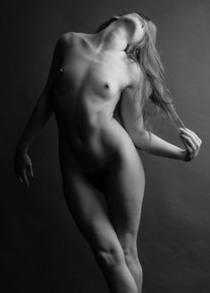 Untitled Nude Art figure study by Stefano Brunesci