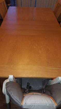Table makeover-before