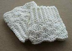 Free Crochet Boot Topper Pattern | Boot-Cuffs-Boot-Toppers-Boot-Sock-Leg-Warmer-Crochet-Handmade-White ...