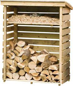 4 Ft. x 2 Ft. Wood Log Store