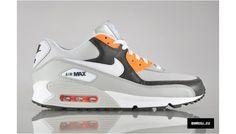 Nike Air Max 90 Neutral Grey/Fog-Total Orange