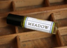 Meadow Perfume Oil Coconut Hemp Roll On by LongWinterSoapCo, $9.00