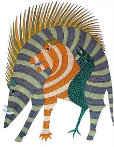 Gond Tribal Art Painting