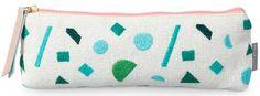 print & pattern memphis pencil case