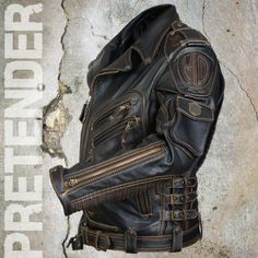 Buy Leather jacket Stormbringer from the manufacturer. Affordable prices, huge selection of leather goods, delivery in Ukraine Zak Buy Leather Jacket, Custom Leather Jackets, Black Leather Motorcycle Jacket, Leather Jacket Outfits, Biker Leather, Motorcycle Outfit, Leather Men, Pink Leather, Rock Style Men