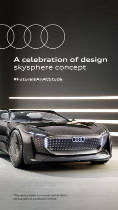 E Mobility, Audi Cars, Concept Cars, Vehicles, Turning, Character, Stars, Design, Sterne