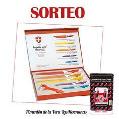 SORTEO: Set de cuchillos de Cerámica por Pimentón de la Vera Las Hermanas