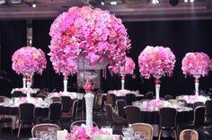 Preston Bailey's Elevated Wedding Reception Centerpieces, Bride Ideas, Preston Bailey, preston bailey centerpieces