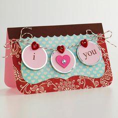 'I Heart You' Banner Card