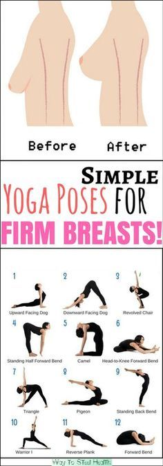 Yoga Fitness Flat Belly Many women believe there's nothing they can do about the shape or size of their breasts, other than plastic surgery. - There are many alternatives to get a flat stomach and among them are various yoga poses Fitness Workouts, Fitness Del Yoga, Sport Fitness, Fitness Tips, Fitness Motivation, Health Fitness, Fitness Plan, Health Yoga, Exercise Motivation